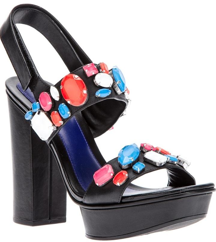 Kenzo embellished sandal