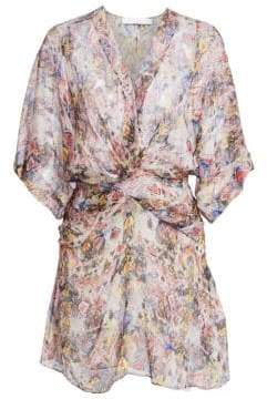 dbcc6959a47 IRO Women s Gazania Silk Knot Shift Dress