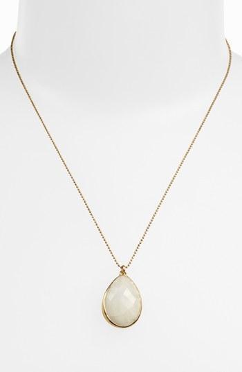 Melinda Maria 'Milton' Teardrop Pendant Necklace