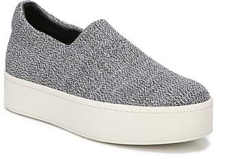 Vince Women's Walsh Knit Slip-On Platform Sneakers
