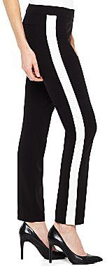 Worthington® Slim Tuxedo-Striped Ankle Pants