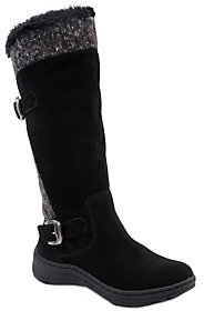 BareTraps Cold Weather Tall Leather Boots-Adalia $105 thestylecure.com