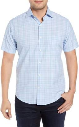 Peter Millar Piedmont Plaid Cotton Sport Shirt