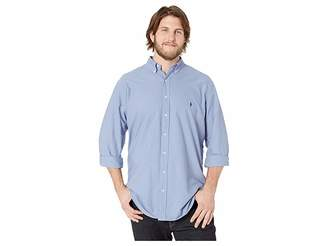 Polo Ralph Lauren Big & Tall Big Tall Solid Garment Dyed Oxford Long Sleeve Classic Fit Sports Shirt