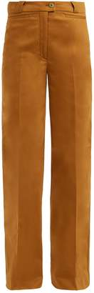 Acne Studios Tiffan wide-leg cotton-blend trousers