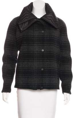 Christopher Raeburn Wool Plaid Coat