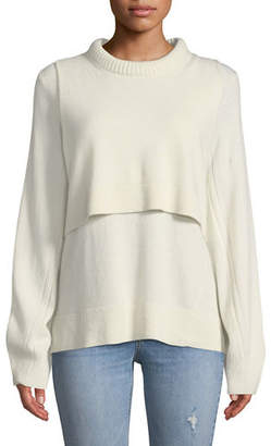 Rag & Bone Preston Cashmere Crewneck Sweater
