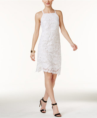Alfani Lace A-Line Dress, Only at Macy's $99.50 thestylecure.com