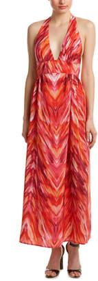 Amanda Uprichard Mercer Silk Maxi Dress