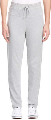Joan Vass Silk-Trim Pant