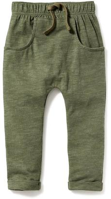 Kangaroo-Pocket Slub-Knit Jersey Pants for Toddler Boys $16.94 thestylecure.com