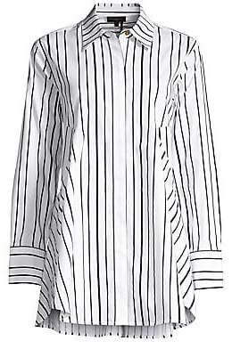 Donna Karan Women's Stripe Shirtdress