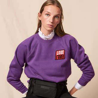 Sandro Sweatshirt with patch