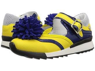 Love Moschino Sneaker w/ Pom Pom Women's Shoes