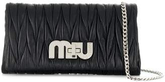 Miu Miu quilted clutch