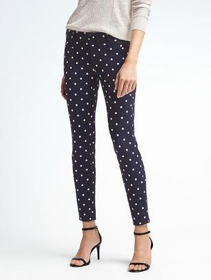 Sloan-Fit White Dot Pant $98 thestylecure.com