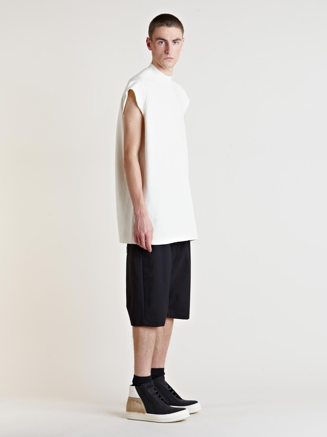 Rick Owens Men's Jumbo Sleeveless Top