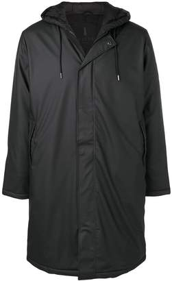 Rains classic zipped raincoat