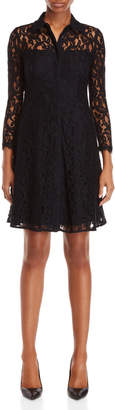 Nanette Lepore Nanette Josephine Lace Fit & Flare Dress