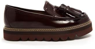 See by Chloe Tassel platform leather loafers
