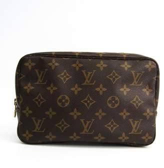 Salvatore Ferragamo Black Leather Gancini Drawstring Shoulder Bag (SHA-10311)