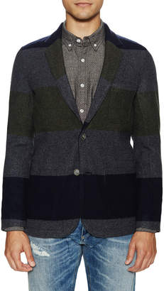 Life After Denim Oregon Trail Striped Wool Blazer