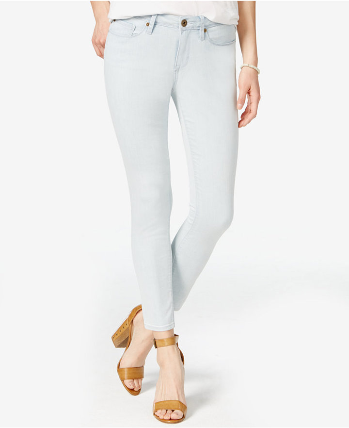 American RagAmerican Rag Ripped Skinny Jeans, Only at Macy's