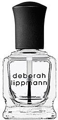 Deborah Lippmann Hard Rock - Nail Strengthening Top and Base Coat