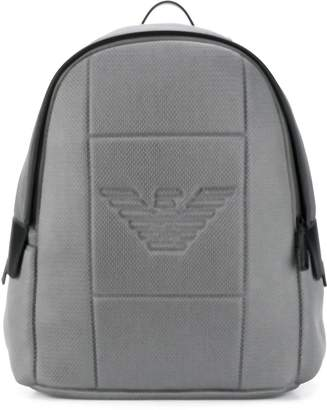 Emporio Armani mesh backpack