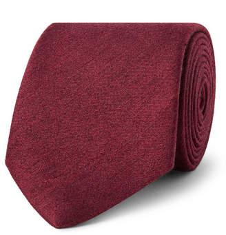 Charvet 7.5cm Mélange Slub Silk Tie