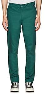 Dickies CONSTRUCT Men's Logo Cotton Tapered Trousers - Green
