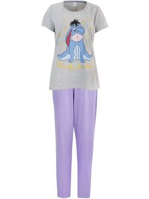 Disney Womens Eeyore Pajamas