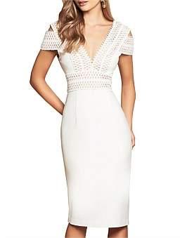 Love Honor Pia Midi Dress