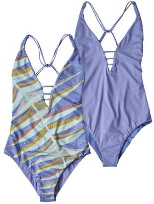 a81882c18f93 Patagonia Women's Reversible Extended Break One-Piece Swimsuit