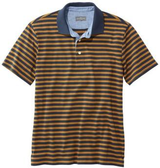 L.L. Bean L.L.Bean Men's Signature Polo Shirt, Short-Sleeve, Stripe