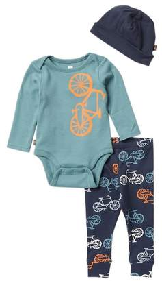 Tea Collection Cycle Baby Outfit Set (Baby Boys)