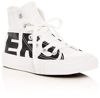 Converse Unisex Chuck Taylor All Star Logo High Top Sneakers - Toddler, Little Kid