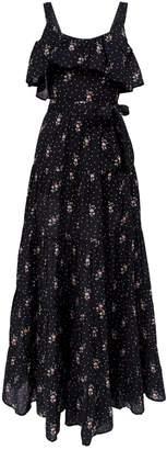 Paige Tevins Floral Maxi Dress