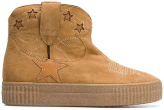Golden Goose star ankle boots
