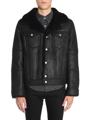 Diesel Black Gold Lordy Leather Jacket