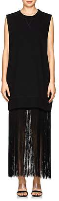 MM6 MAISON MARGIELA Women's Fringe-Trimmed Cotton Sweatshirt Dress