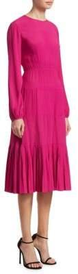 No.21 Long Sleeve Midi Dress