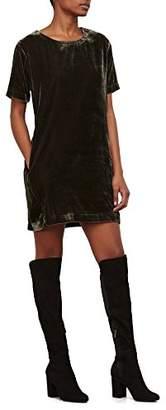 Kenneth Cole Women's Zip Shoulder T-Shirt Dress