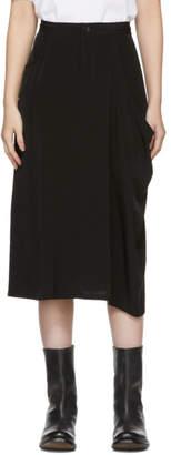 Y's Ys Black S-Left Skirt
