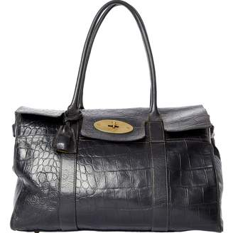931da3b3d666 Mulberry Bayswater Leather Bag - ShopStyle