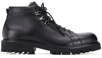 Baldinini lined lace up boots