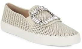 Ermines Embellished Slip-On Sneakers