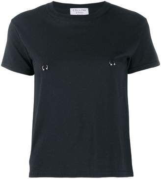 Collina Strada pierced T-shirt