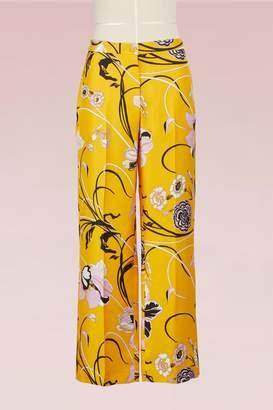 Emilio Pucci Silk Pajama Pants
