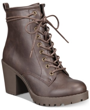 Ziginy Kourtlan Lace-Up Booties Women's Shoes